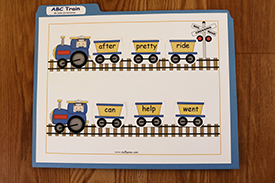 ABC Train Alphabetical Order