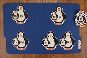 Penguin Party Word Families Set 6