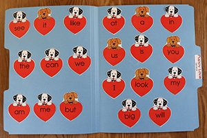 Puppy Love - Sight Words