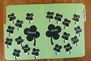 Lucky Day - Nouns and Verbs